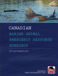 Canadian Marine Animal Emergency Response Workshop