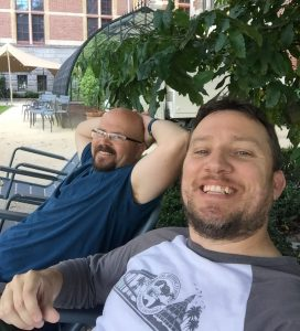 Kevin & Patrick in Europe