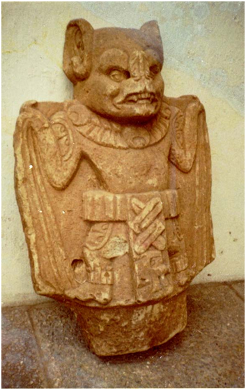 Ancient Mayan bat god 'Camazotz'