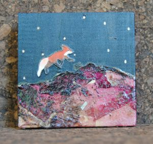 Example of Ashley Anne Clark's fox art