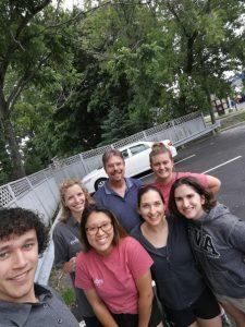 New Brunswick oral rabies vaccination team